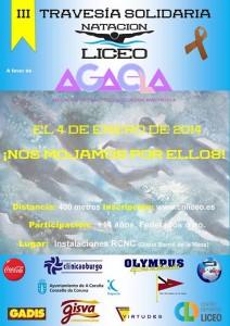 III Travesía Solidaria a nado en A Coruña