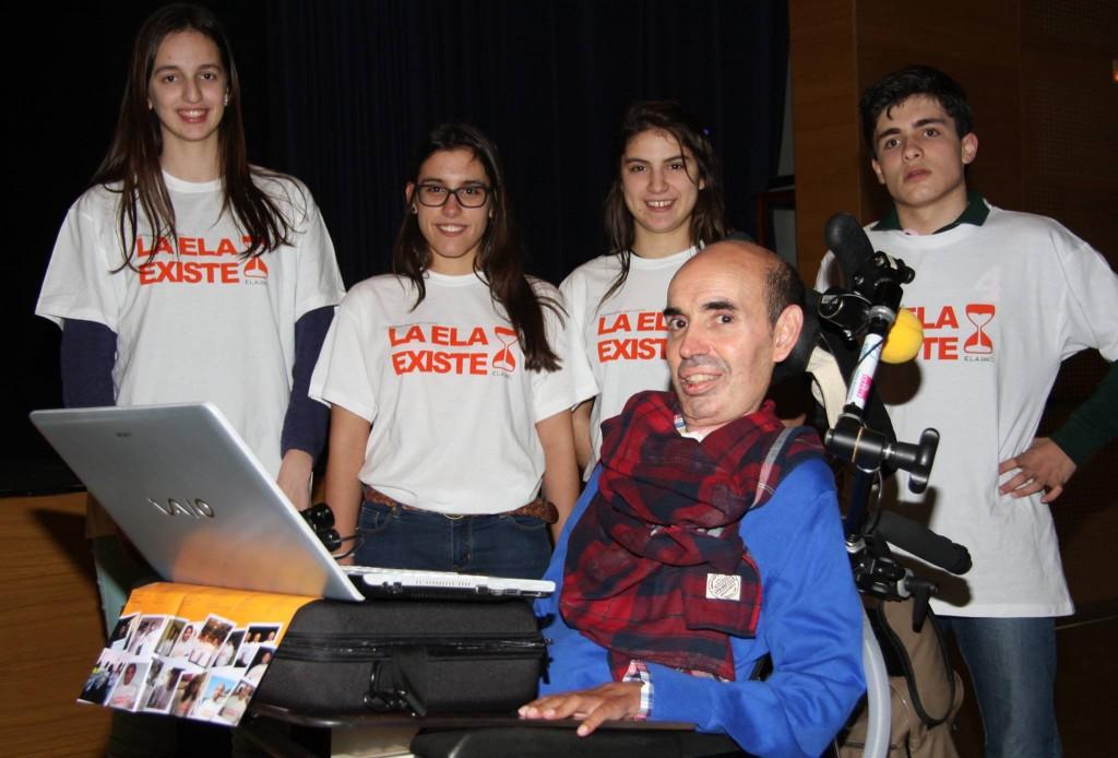 #laELAexiste en el Colegio M. Peleteiro – Santiago