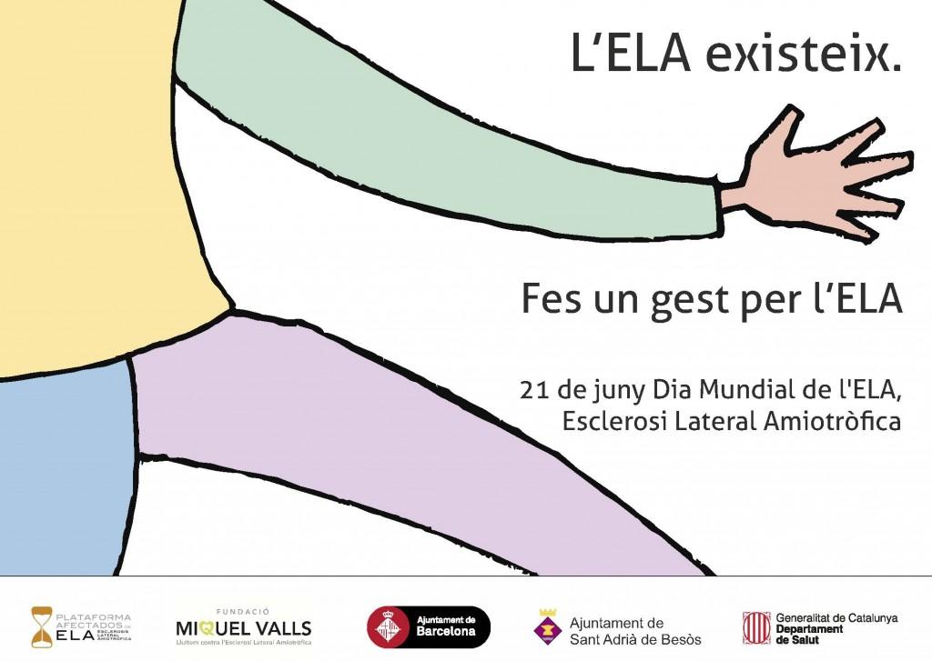 Día Mundial de ELA en Barcelona