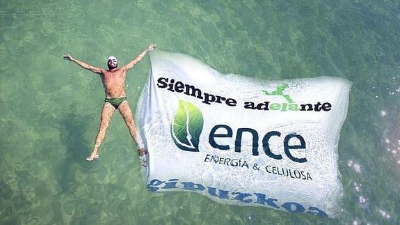 Jaime Caballero nadará durante más de 24 horas contra la ELA