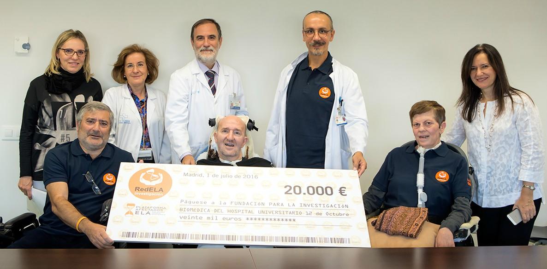 Firma del convenio entre RedELA y la Fundación para la Investigación Biomédica del Hospital Universitario 12 de Octubre