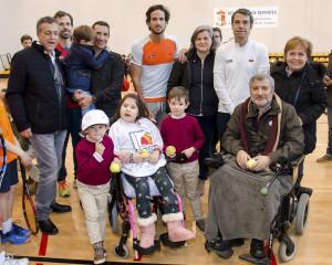 I Clinic de Tenis  Solidario en favor de RedELA Investigaciónen Aranjuez