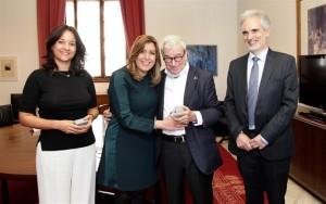 La Fundación Luzón firma un Convenio con la Comunidad de Andalucía