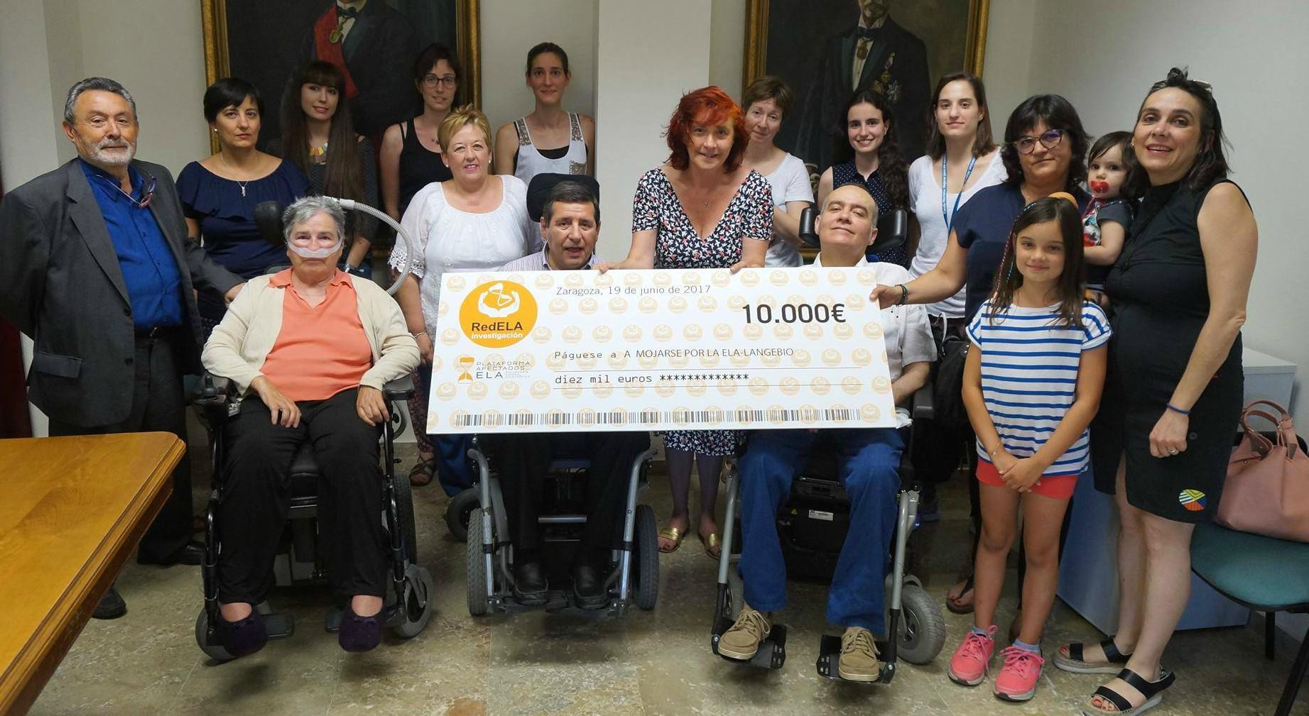 RedELA dona 10.000€ a un proyecto de investigación de la Universidad de Zaragoza