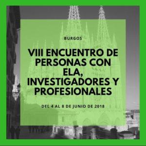 VIII Encuentro Afectados, Investigadores y Profesionales