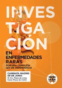 Ven a la V Caminata en Madrid el 9 de Junio