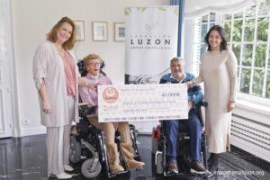RedELA Investigación dona a la Fundación Luzón 40 mil euros para investigación