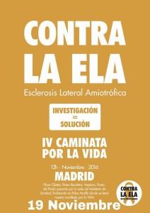 Caminata por la vida en Madrid, sábado 19 de noviembre