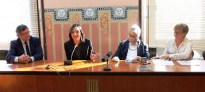 La Fundación Luzón firma un Convenio con la Generalitat de Catalunya y la Fundació Miquel Valls